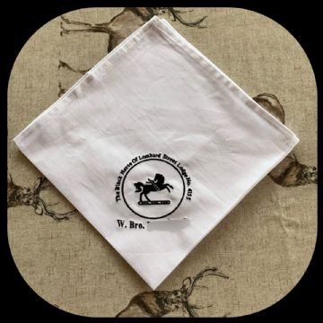 The Black Horse of Lombard Street Lodge Napkin